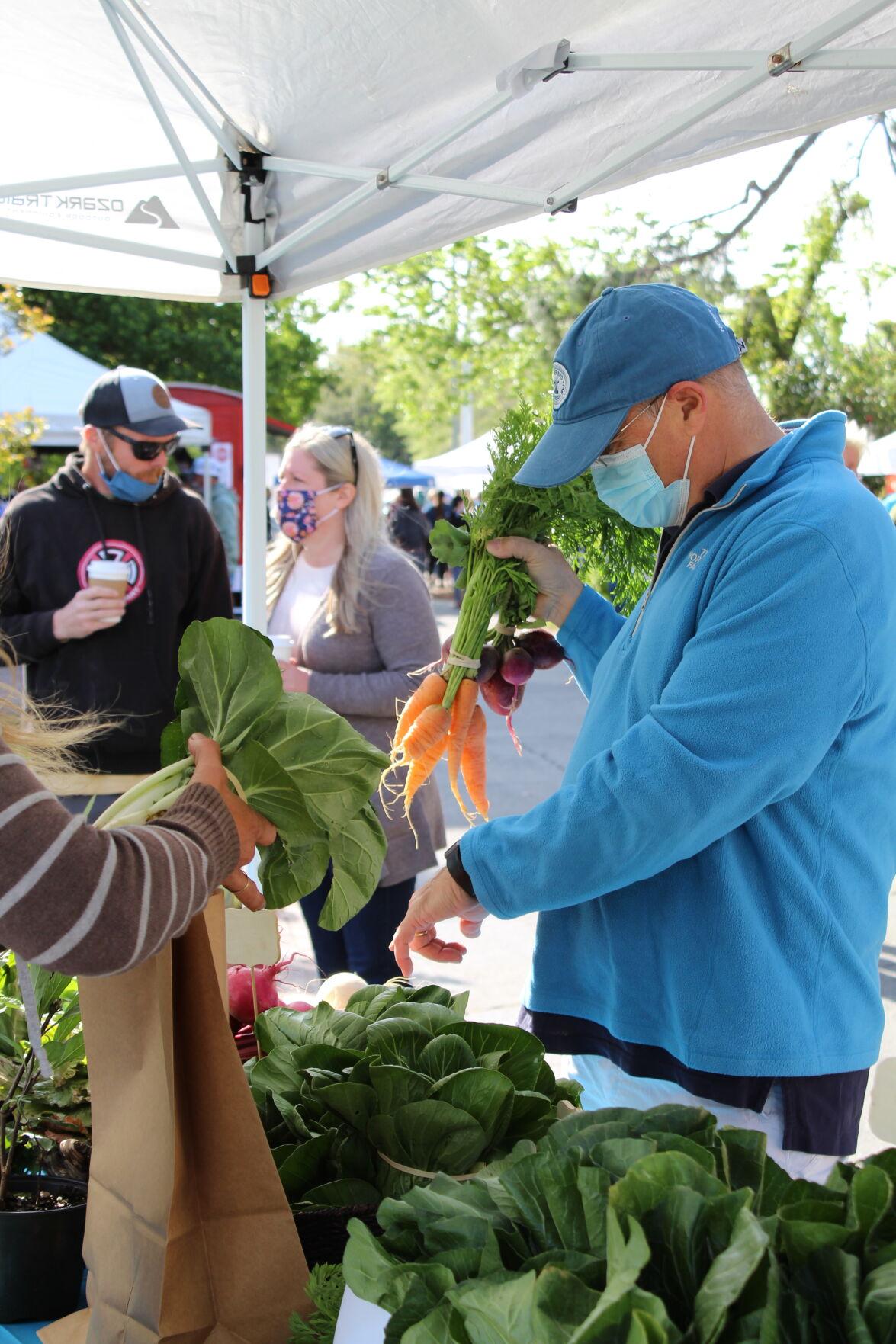 GALLERY: Olde Beaufort Farmers' Market opens for 2021 season