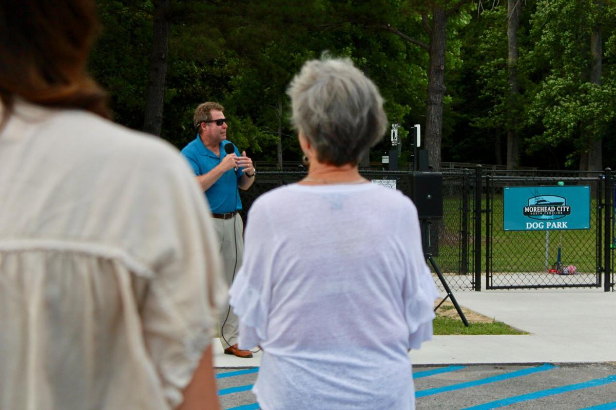 Morehead City unveils dog park with grand opening ceremony