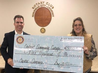 Rotary makes foundation donation