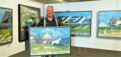 Reception for Stephen Moore set at From the Mountains to the Sea Impressions Art Gallery
