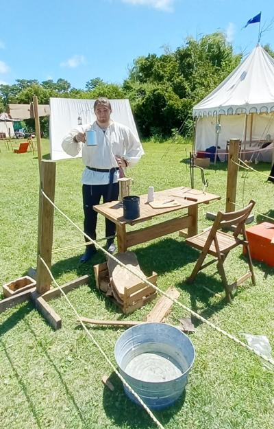 Living History Days  reenactment lights up Beaufort