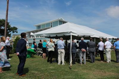 Insurance officials mark 30,000 weather-resilient roofs installed in US with ceremony in Atlantic Beach