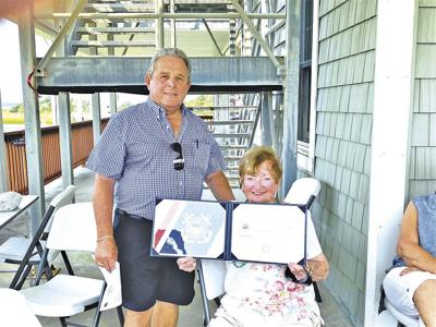 Snyder retires from Coast Guard Auxiliary after 30 years of service