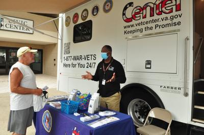 Homeless Stand Down event connects veterans, others to needed services