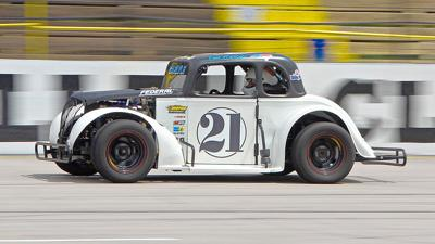 Marshallberg Legends driver hoping to climb the ladder