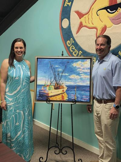 NC Seafood Festival unveils 34th annual commemorative poster