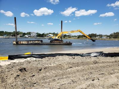 Contractor completes dredging work in Atlantic Harbor