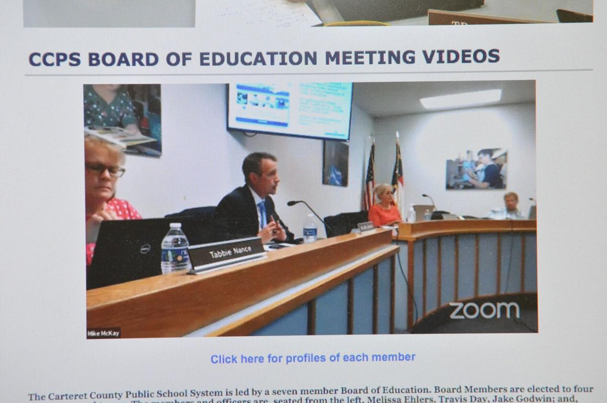 Carteret County school board approves combination of on-site and remote learning reopening