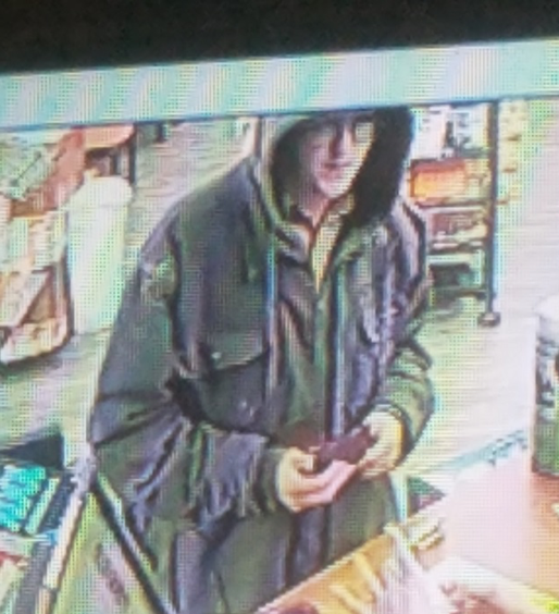 Counterfeit money suspect