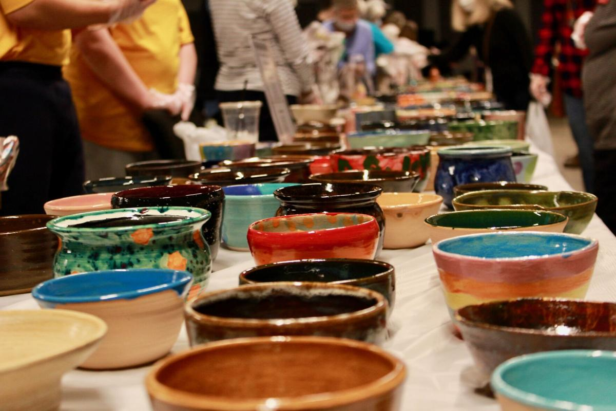 Despite pandemic, 18th annual Empty Bowls raises money for feeding programs