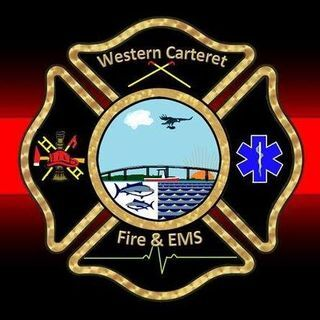 WESTERN CARTERET FIRE AND EMS DEPARTMENT LOGO