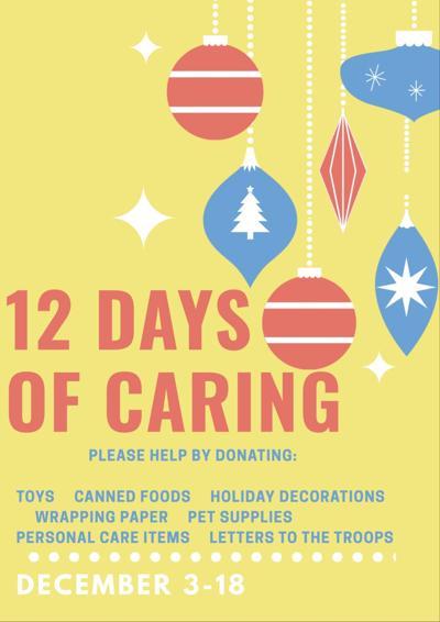 12 Days of Caring at Sanborn