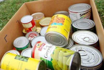 canned food drive in september community