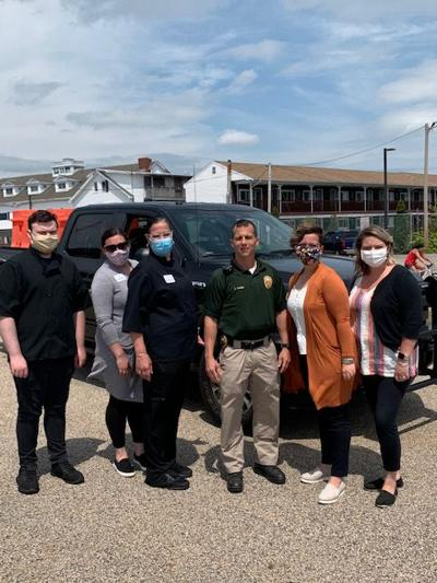 Cornerstone at Hampton Provides Lunch to First Responders