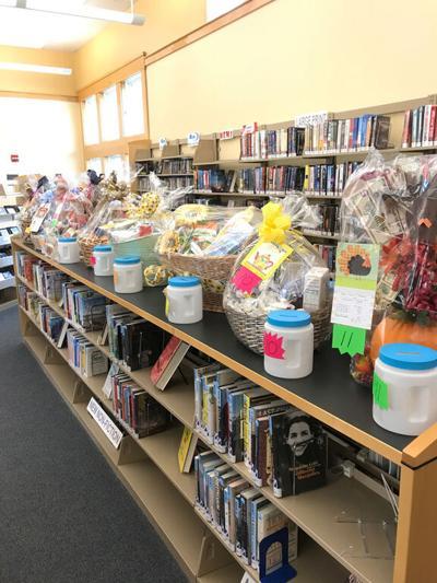 Gift Baskets Galore at Kimball Library