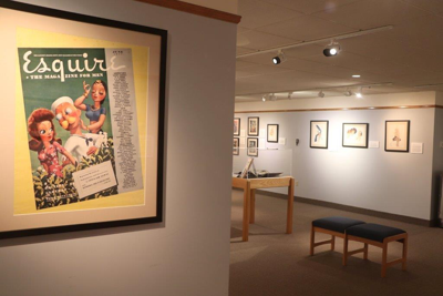 'Esquire Magazine: The World War II Years' Opens at Wright Museum