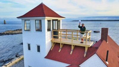 New Life for the Wood Island Life Saving Station