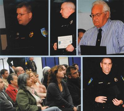 Fremont Police Officers Honored