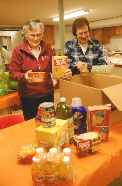 Food Pantry Going Strong
