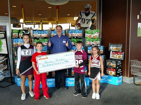 Special Donation to Timberlane Tornadoes