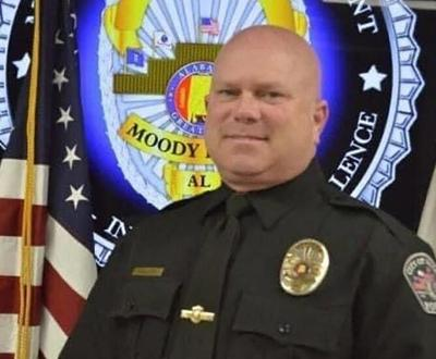 Moody, AL police officer shot, killed