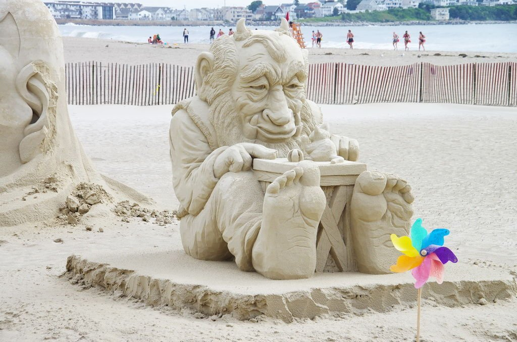 The 2015 Sand Sculpting Competition