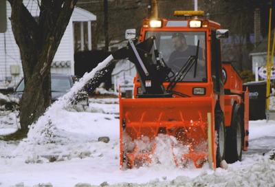 Clearing Walks for Residents