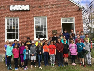 Kensington Students Visit One Room Schoolhouse