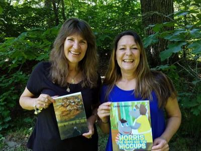 Two Danville Authors, and friends, Release Books