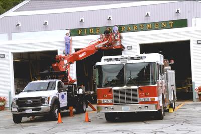 Fire Department Finishing Touches