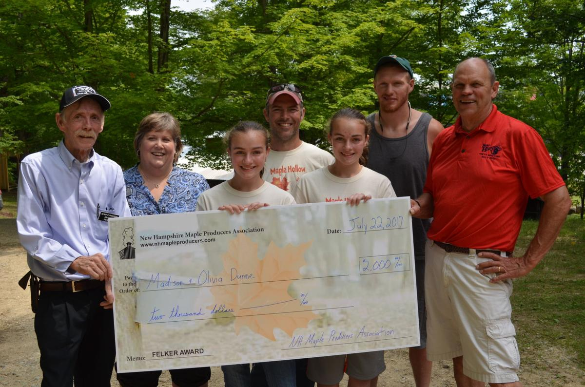 Student-Made NH Maple Syrup Winners