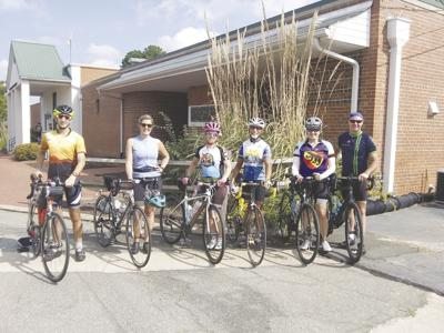 Touring the state on bicycles