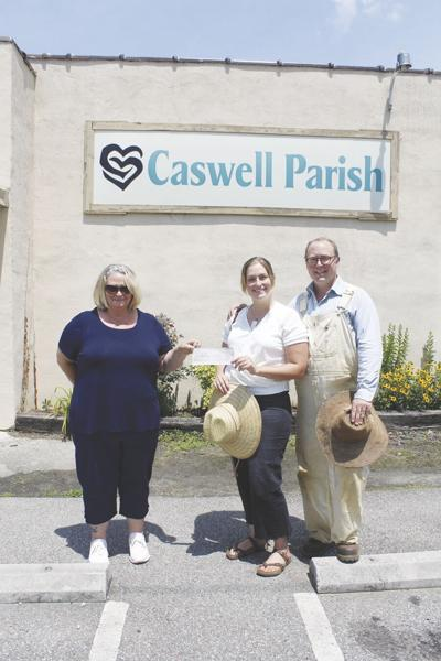 Donation to Caswell Parish