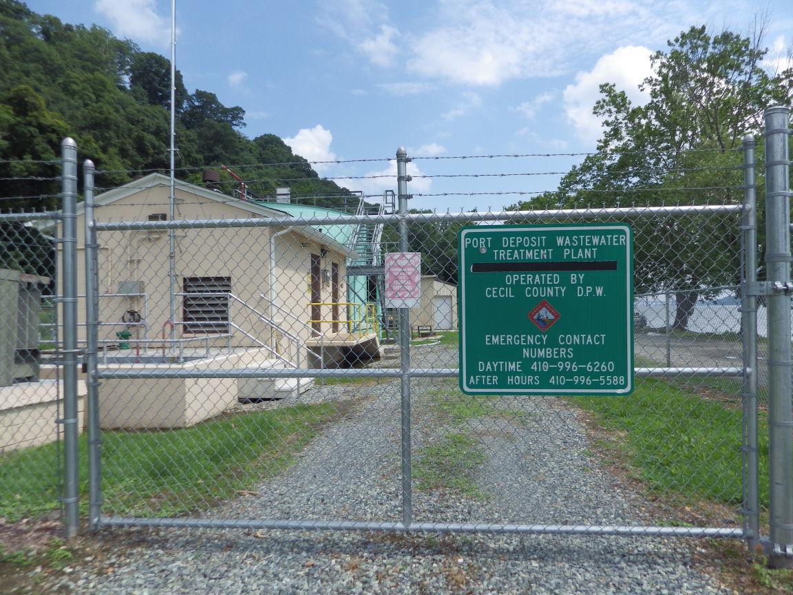 Port Deposit sewer plant