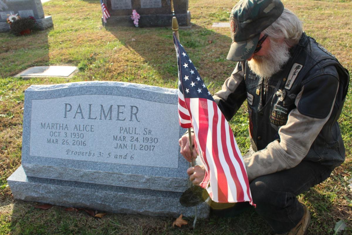Reward being offered for information on grave marker thefts