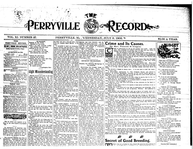 Ask the Historical Society: Genealogy help | Our Cecil