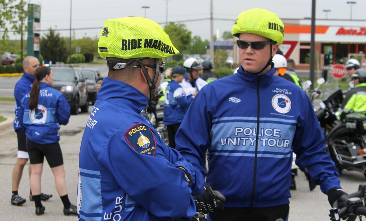 Police unity tour passes through cecil county local news for Police tours