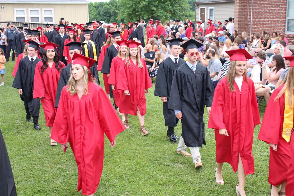 Bo Manor High graduation