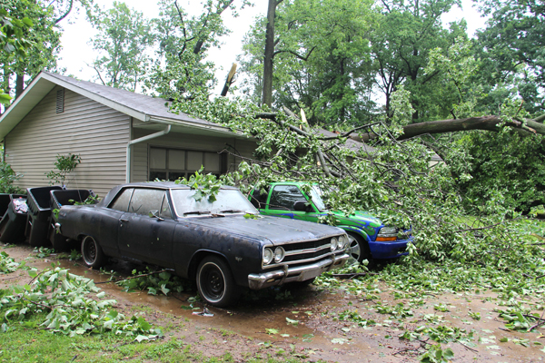 Nws Confirms Tornado In Newark Area Regional