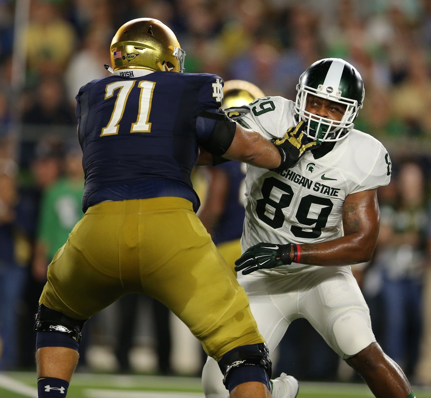 Michigan State senior defensive end and Perryville