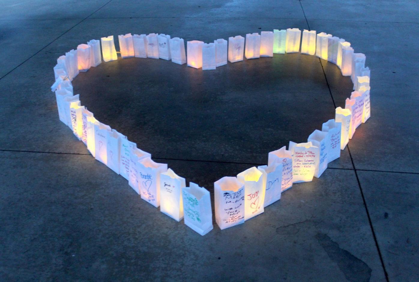 Overdose memorial vigil