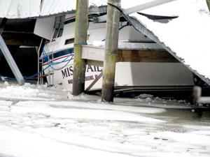Bouncing Back Marina To Rebuild After Shed Collapse