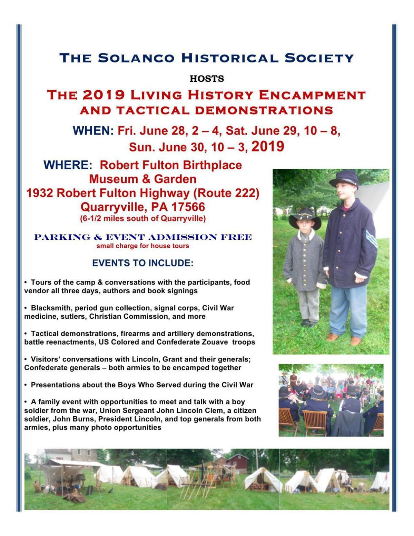 Civil War to erupt again at Robert Fulton Birthplace