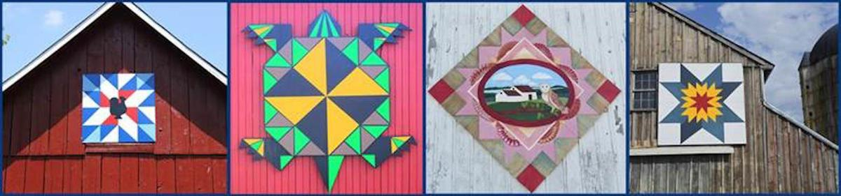 Sites on the Barn Quilt Trail