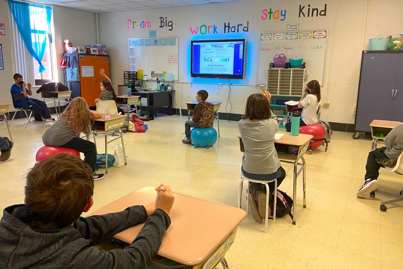 KCPS students are back in the classroom