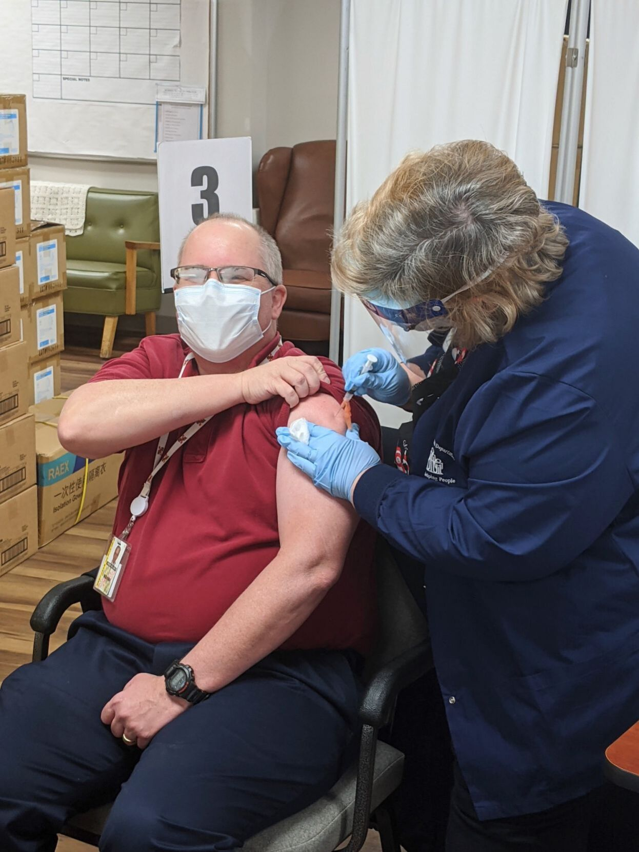 Kent receives first doses of Moderna coronavirus vaccine