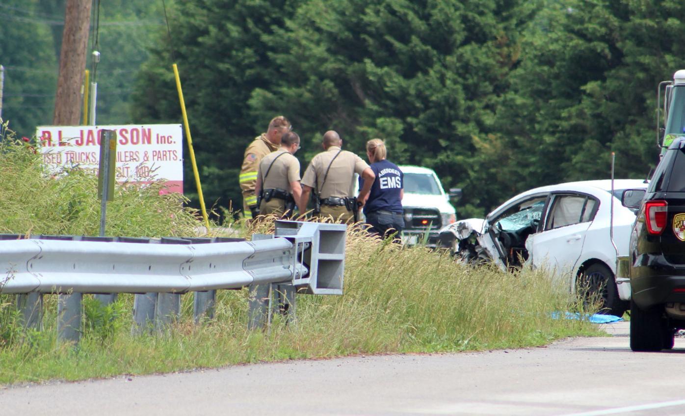 Fatal crash near Rising Sun