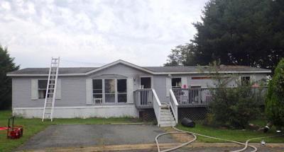 Port Deposit-area house fire
