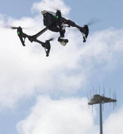 Drone cell tower