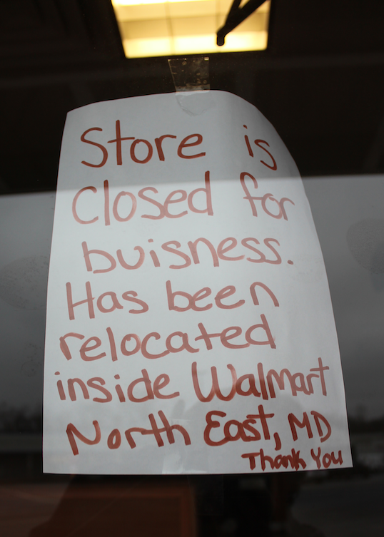 Subway in Big Elk Mall is closed